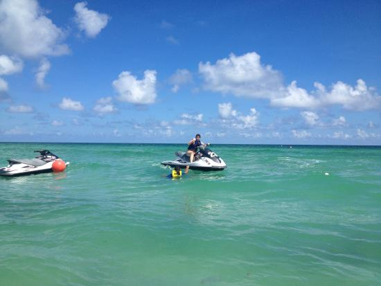Fontainebleau Miami Beach Beautiful Water Loved Jet Skiing