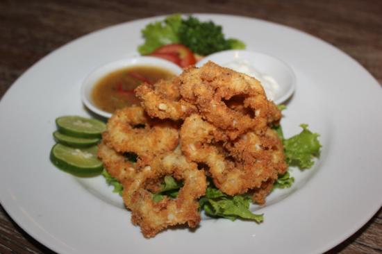 Swish Bar & Restaurant: SALT & PEPPER SQUID