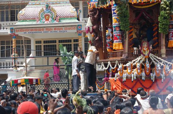 Surayanarayana Temple: Brahmarathothsavam