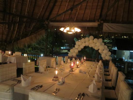 Villa Elisabeth: Gedechtes Restaurant