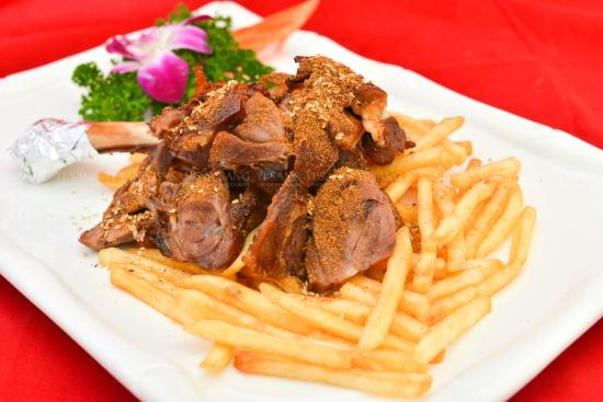 Deep fried goat leg with herb picture of yi sang chinese for 77 chinese cuisine