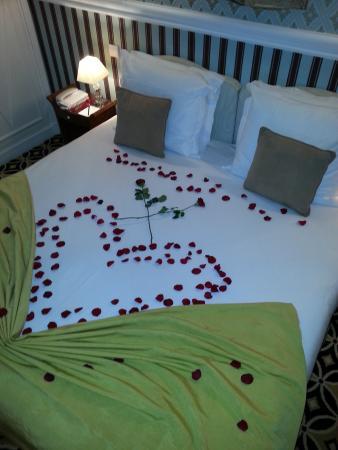 Hotel Belles Rives : chambre belles rives.merci!