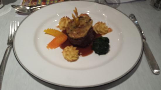 Hotel Belvedere Locarno: Carne
