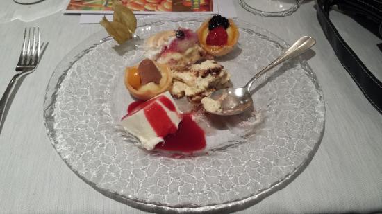 Hotel Belvedere Locarno: Dessert