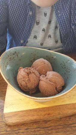 Roaring Grill: The best chocolate ice cream ever