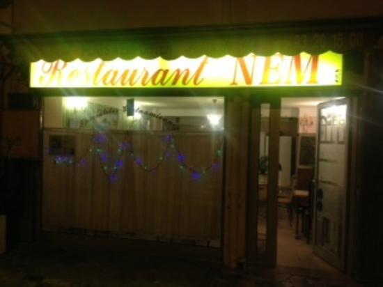 Restaurant Nem Cagnes Sur Mer