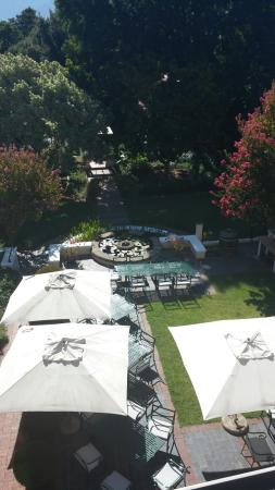 Zomerlust Guesthouse : Beautiful, peaceful and perfectly maintained garden