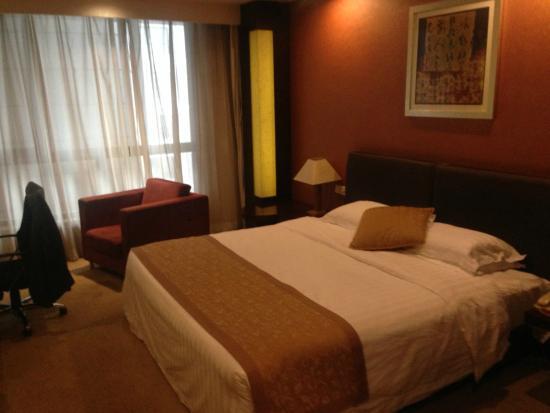 Oriental Bay International Hotel: Bed