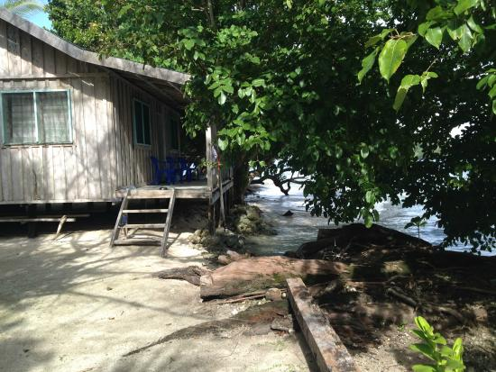 Mangalonga Island, Salomonen: Beach hut