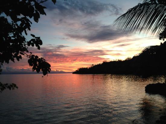 Mangalonga Island, Salomonen: Maravagi Sunset