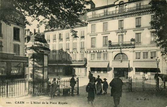 royal hotel caen centre before 1944 picture of royal hotel caen centre caen tripadvisor. Black Bedroom Furniture Sets. Home Design Ideas