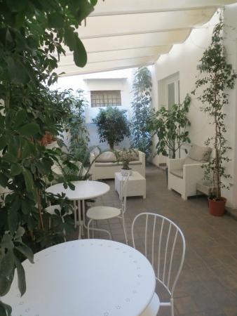 Bed and Breakfast Museo Salinas: terrazza