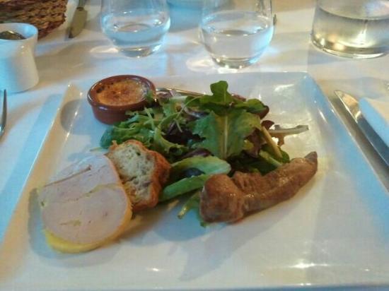 Le Canard Sur Le Toit: Trilogie de foie gras