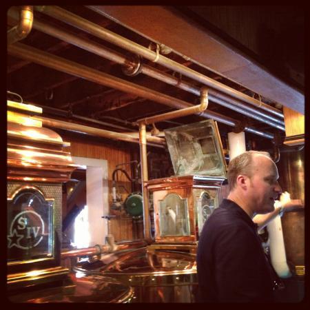 Kentucky Bourbon Trail: Master Distiller Greg Davis of Maker's Mark
