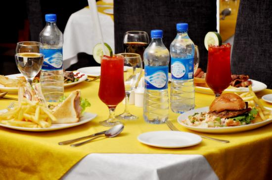 The Elkan Terrace: European food
