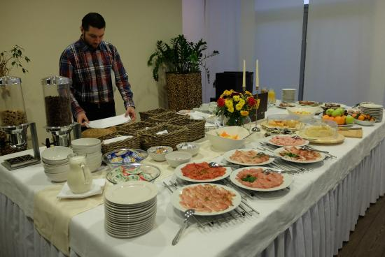 Ponteo Activity Park Rusovce : Breakfast Buffet