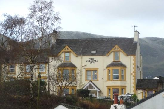 The Coledale Inn: View from the village