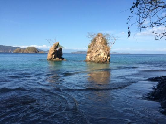Tambor Adventure: On the beach at Tortuga Island