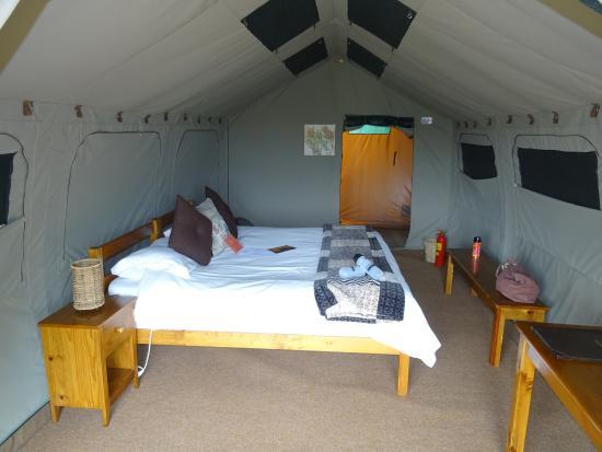 Woodbury Tented Camp, Amakhala Game Reserve: Zelt Nr. 1