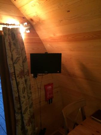 West Stow Pods: TV
