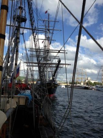 L'armada : Вид с фрегата