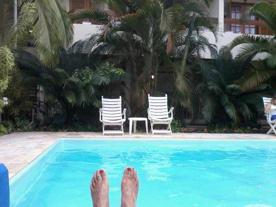 Ilhas de juquehy: piscina