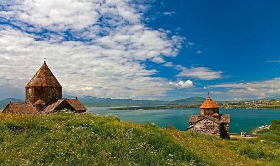 Lake Sevan: MONASTERY OF SEVANAVANK ON THE LAKE PENINSULA