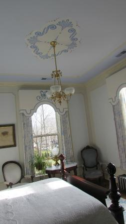 Silas W Robbins House: another ceiling
