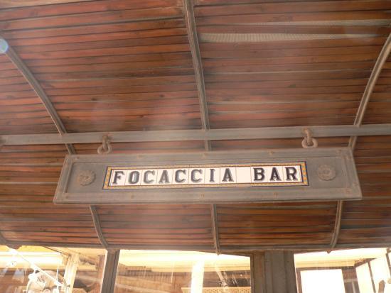 Focaccia Bar : entrance