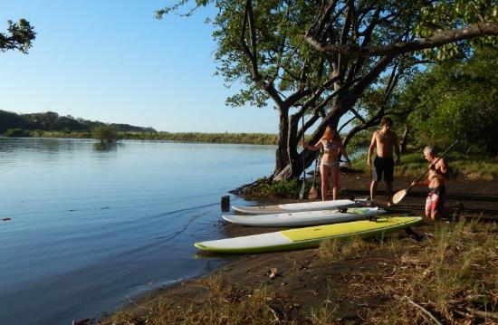 Playa Negra SUP Morning river tour