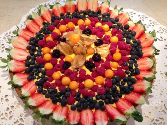 Il Botteghino: Crostata crema e frutta