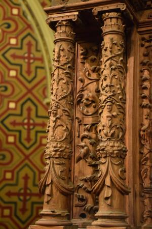 Detalle del retablo: fotografía de Fundación Amantes de Teruel, Teruel - Trip...