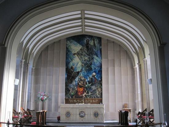 Bangor Abbey: High Altar