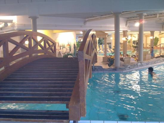 Strandhotel Weissenhäuser Strand: Ein kleiner Teil des wunderschönen Dünenbades im Hotel