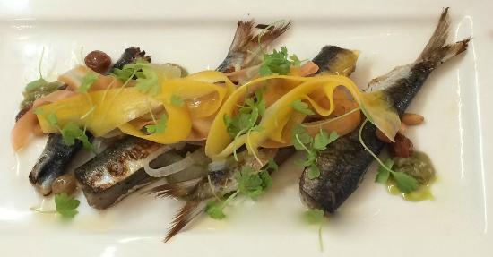Lucio's Italian Restaurant: Sardines in agro dolce