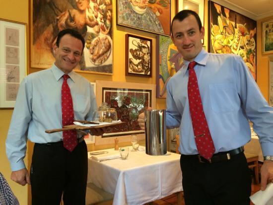 Lucio's Italian Restaurant: Aldo and Roberto