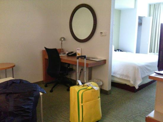SpringHill Suites Sacramento Roseville: Room on 2nd floor