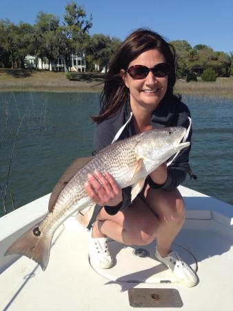 Inshore sea trout beaufort sc fishing charter picture for Beaufort sc fishing