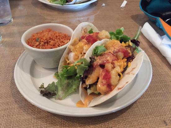 Shug's Southern Soul Cafe: Shrimp tacos are amazing!!!