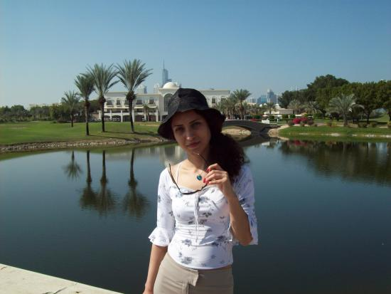The Address Montgomerie Dubai: in front of the hotel