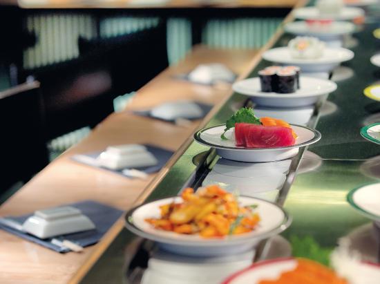 Tr s bonne qualit de restaurant japonais tapis roulant - Restaurant japonais tapis roulant paris ...