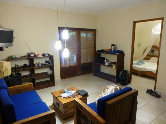 Tropical Inn Bonaire : Wohnraum