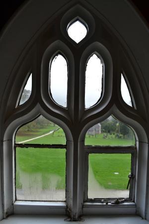 YHA Ilam Hall: window