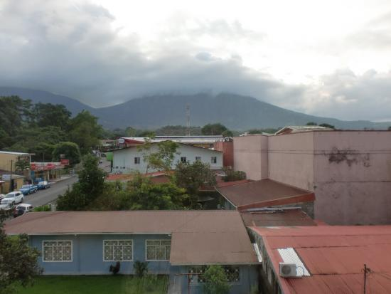 Hotel La Fortuna: View from room