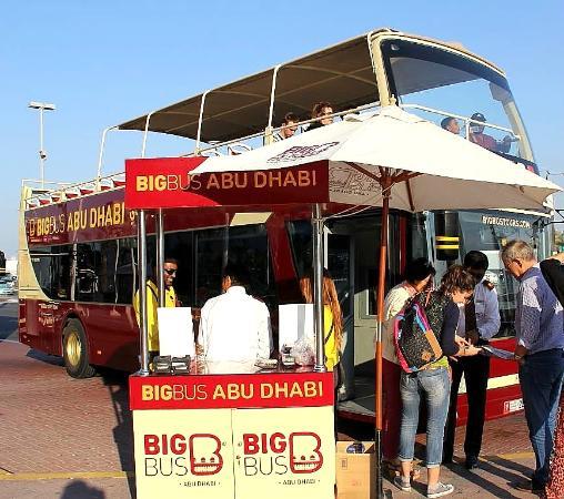 Big Bus Tours Abu Dhabi: автобусы