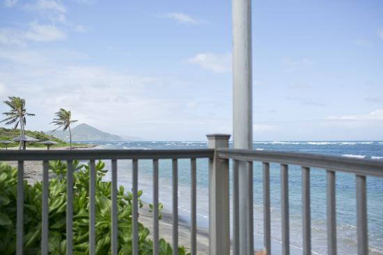Nisbet Plantation Beach Club: view from pool area