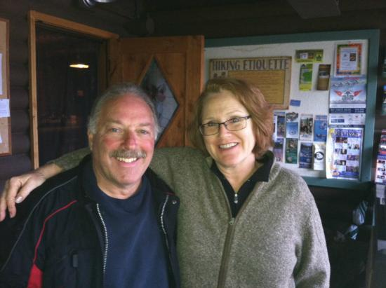 Laughing Horse Lodge: Kathleen and I