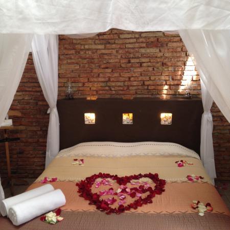 Hotel Casa Molina: habitación JAFRA decorada