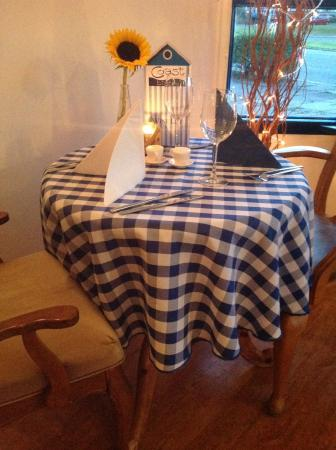 Coast Bistro: Table for Two