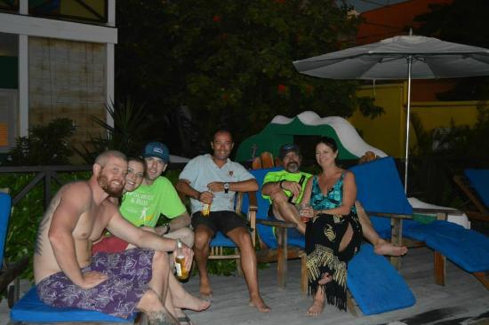 Scuba Lodge & Ocean Suites: Family and Adriaan